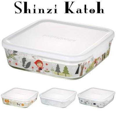 シンジカトウ iwaki イワキ  パック&レンジ 1200ml 耐熱ガラス 作り置き 保存容器 公式 レンジ オーブン レンジ調理 収納 常備菜 白 ホワイト