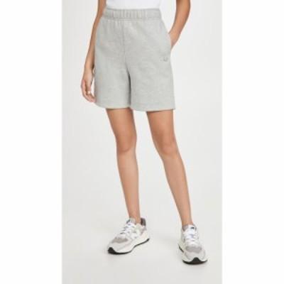アローヨガ Alo Yoga レディース ショートパンツ ボトムス・パンツ Accoldae Sweat Shorts Dove Grey Heather