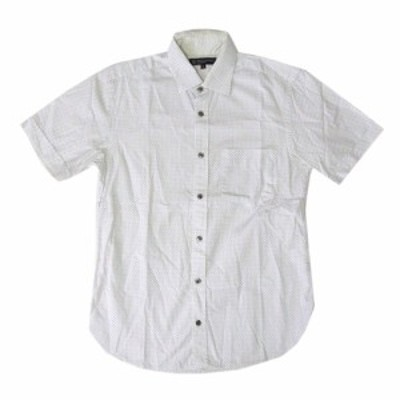 BEAUTY&YOUTH UNITED ARROWS ビューティ&ユース ユナイテッドアローズ ドットシャツ (白 ホワイト 半袖) 116301【中古】