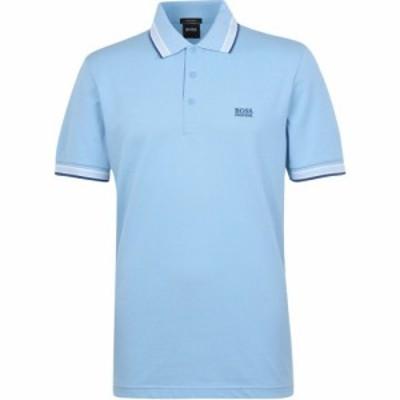 ヒューゴ ボス Boss メンズ ポロシャツ トップス Paddy Polo Shirt Dk Blue