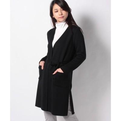 【ジョコンダ ロイヤル】【アンサンブル対応】NADIA MIXリバーシブル編みジャカード ニットジャケット