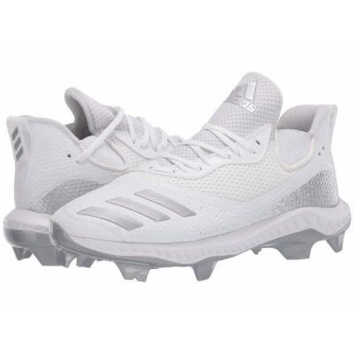 アディダス スニーカー シューズ メンズ Icon V Bounce TPU Footwear White/Silver Metallic/Footwear White