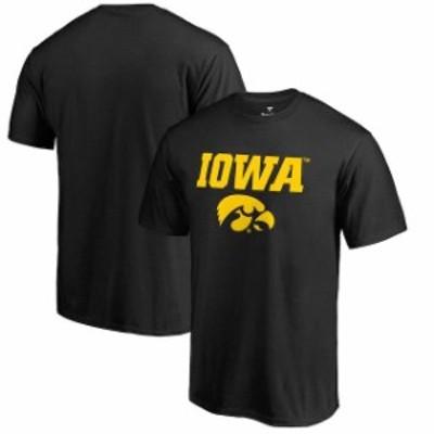 Fanatics Branded ファナティクス ブランド スポーツ用品  Fanatics Branded Iowa Hawkeyes Team Lockup Black Big & T