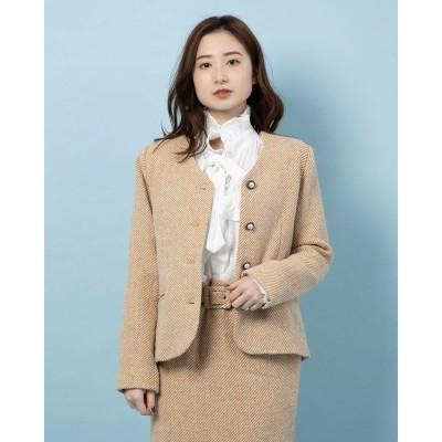 Marmee Tweed Jacket (YELLOW)