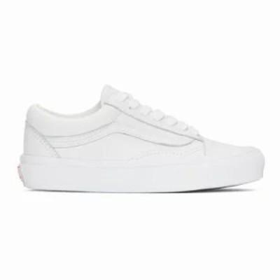 ヴァンズ スニーカー White OG Old Skool LX Sneakers