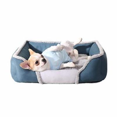ペット ベッド ペットベッドペット用品猫の巣取り外し可能および洗える小さ(中古品)