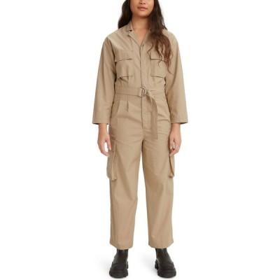 リーバイス LEVI'S レディース オールインワン ジャンプスーツ ワンピース・ドレス Long Sleeve Utility Jumpsuit Soft Structure Incense