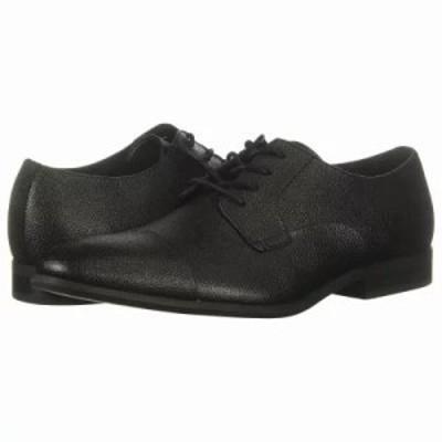 カルバンクライン 革靴・ビジネスシューズ Langston Black Small Tumbled Leather