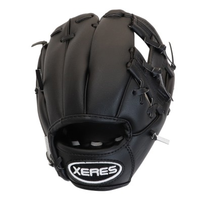 XERES野球キッズ S 軟式 722E9ZK4000 BKBKブラック