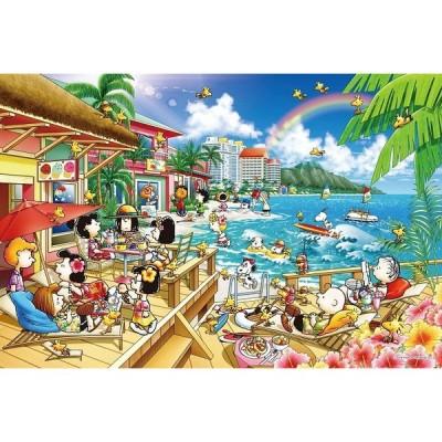 ジグソーパズル 1000ピース PEANUTS スヌーピー ビーチリゾート (50x75cm) 11-589S(エポック社)梱80cm