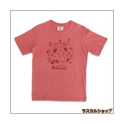 プリント半袖Tシャツ「ZZZ」(スモーキーピンク)