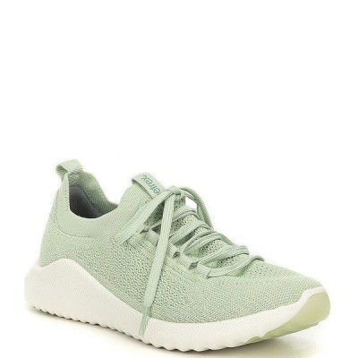 エイトレックス レディース スニーカー シューズ Carly Knit Lace-Up Sneakers Mint