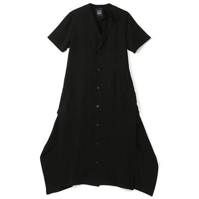<LIMI feu(Women)/リミフゥ> Ten/Cu Tussah Tailored Dress A Black【三越伊勢丹/公式】