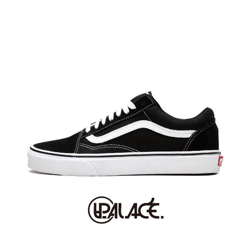 【Vans】 Old Skool 經典基本款 黑白 萬斯 日版 平底鞋 V36CL+ OLD SKOOL DX