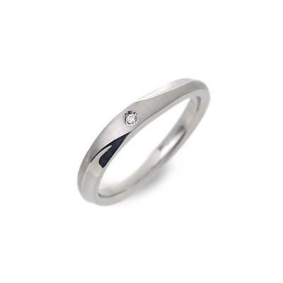 ステンレス リング 指輪 ダイヤモンド 彼女 誕生日プレゼント 記念日 ギフトラッピング フェフェ レディース