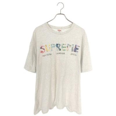 シュプリーム SUPREME 18SS Rocks Tee サイズ:XL ロックスロゴプリントTシャツ 中古 HJ12