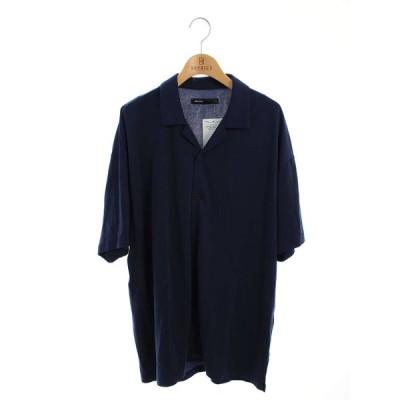 08sircus 08サーカス Tシャツ カットソー 19SS オープンカラー 半袖