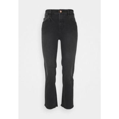 レディース ファッション PATTI HIGH RISE STRAIGHT - Bootcut jeans - corvus