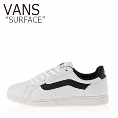 バンズ スニーカー VANS メンズ レディース SURFACE サーフィス WHITE BLACK ホワイト ブラック V2129 シューズ
