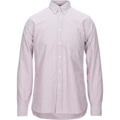 ザカス XACUS メンズ シャツ トップス Striped Shirt Pastel pink