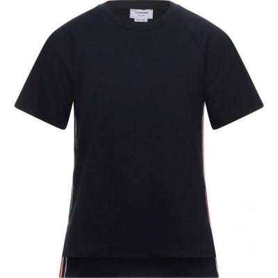 トム ブラウン THOM BROWNE メンズ Tシャツ トップス t-shirt Dark blue