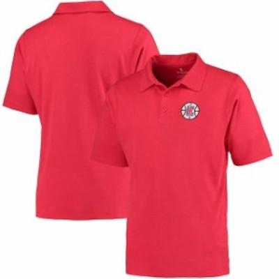 Fanatics Branded ファナティクス ブランド スポーツ用品  Fanatics Branded LA Clippers Red Primary Polo