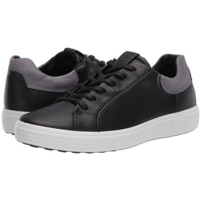 エコー ECCO メンズ スニーカー シューズ・靴 Soft 7 Street Sneaker Black/Titanium