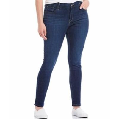リーバイス レディース デニムパンツ ボトムス Levi'sR 711 Plus Size Skinny Jeans Marine Overboard