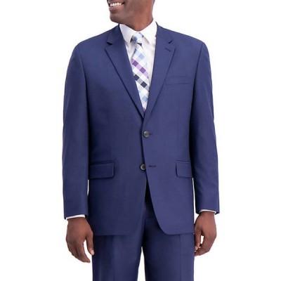 ハガー メンズ ジャケット・ブルゾン アウター Texture Weave Classic Fit Suit Separate Coat
