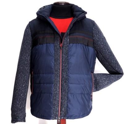 barassi MILANO バラシ ダウンジャケット ダブルジップ ナイロン メンズ ファッション 服 カジュアル 秋冬
