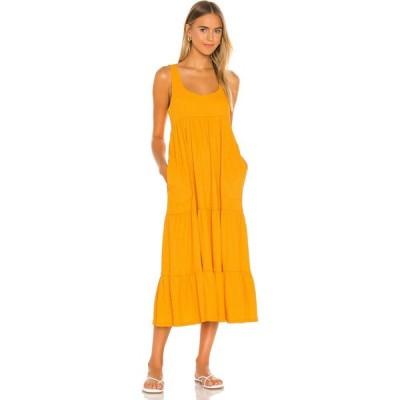 フリーピープル Free People レディース ワンピース ミドル丈 ワンピース・ドレス Reel Love Midi Dress Orangeade