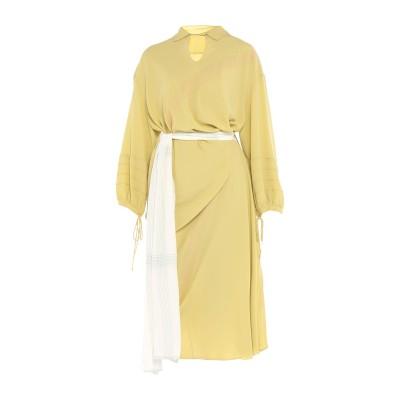 マルニ MARNI ロングワンピース&ドレス ビタミングリーン 46 アセテート 69% / シルク 31% ロングワンピース&ドレス