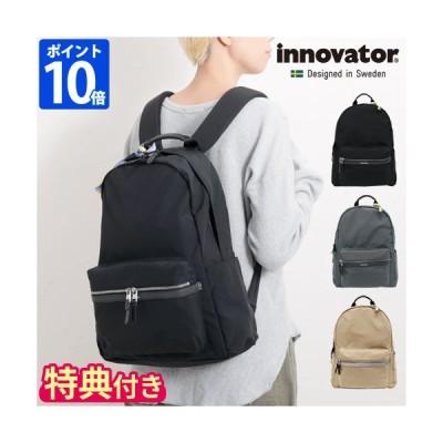 リュックサック innovator イノベーター Vanlig series INB-100 Norm デイパック レディース メンズ B4 背面ポケット付き
