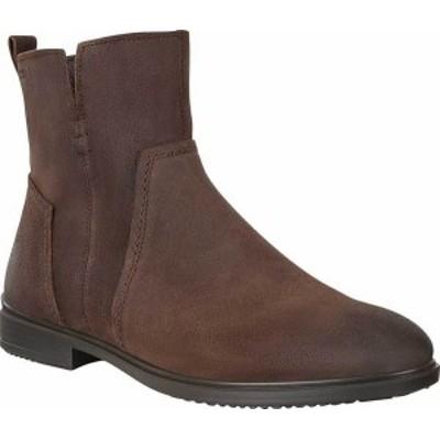 エコー レディース ブーツ・レインブーツ シューズ Women's ECCO Touch 15 B Ankle Boot Coffee Cow Suede