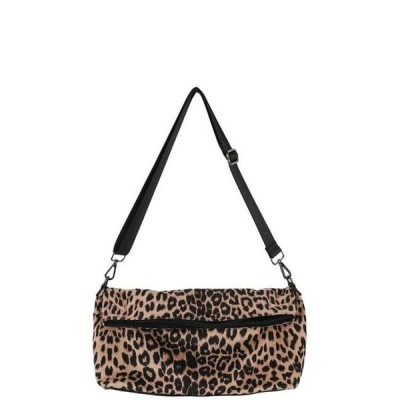 somedayif レディース ショルダーバッグ Monk leopard square shoulder bag
