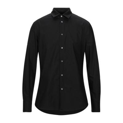 トムレベル TOM REBL シャツ ブラック 46 コットン 96% / ポリウレタン 4% シャツ