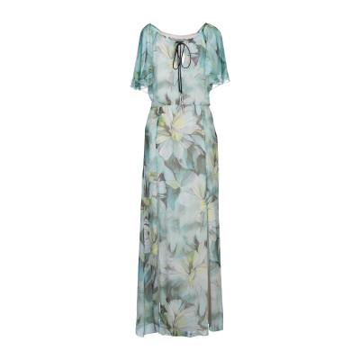 パトリティア ペペ セーラ PATRIZIA PEPE SERA ロングワンピース&ドレス グリーン 44 シルク 100% ロングワンピース&ドレス