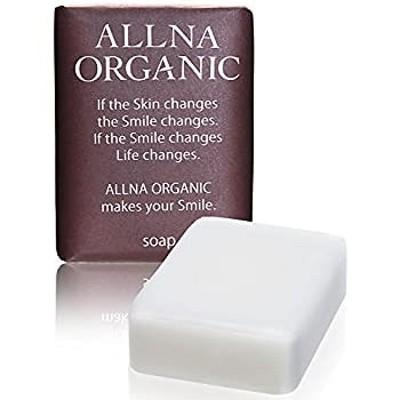 オルナ オーガニック 石鹸 無添加 敏感 肌用 毛穴 対策 洗顔石鹸 コラーゲン 3種 + ヒアルロン酸 4種 + ビタミンC 4種 + セラミド 配合 保湿 固形 洗顔 せっけん バスサ