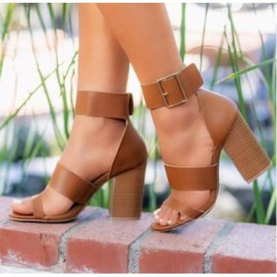 ローマ学院風レディースカジュアルシューズ 靴 女性スリッパ 靴 美脚  セクシービーチシューズ  バックルサンダル オシャレ ミュール  シ