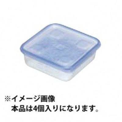 旭化成 ASAHIKASEI ジップロックコンテナー 正方形 130ml 4個入 キッチン用品