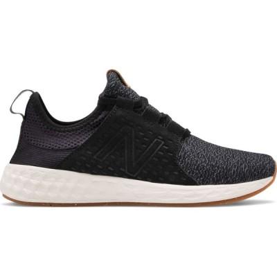 ニューバランス New Balance レディース シューズ・靴 Fresh Foam Cruzv1 Reissue Shoes Black/White