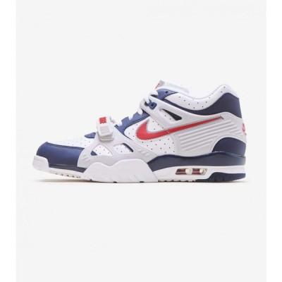 ナイキ Nike メンズ スニーカー シューズ・靴 air trainer 3 Navy/Red/White
