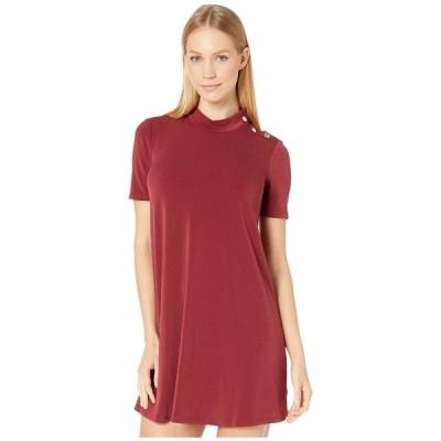 BCBジェネレーション ワンピース トップス レディース A-Line Dress Deep Red