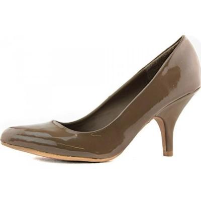 キューピッド レディース パンプス Women's Qupid Office Lady Party Clubbing Patent Leather Stilettos High Heel Pointy Pumps Fashion Shoes