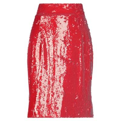 ドンダップ DONDUP ひざ丈スカート レッド 40 ポリエステル 97% / ポリウレタン 3% ひざ丈スカート