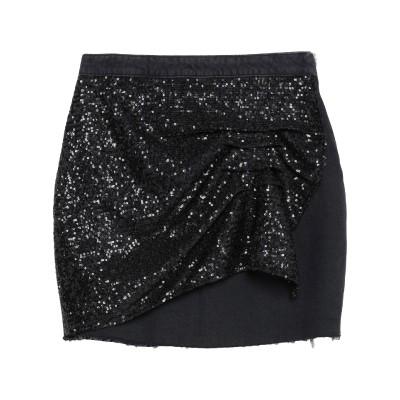 ピンコ PINKO デニムスカート ブラック 26 コットン 100% / ポリエステル デニムスカート