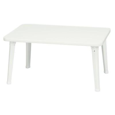 永井興産 NK-6040 WH ホワイト ines(アイネス) [ペイントテーブル] ローテーブル