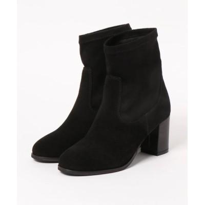 BETTY CLUB / リアルスエード ストレッチブーツ WOMEN シューズ > ブーツ