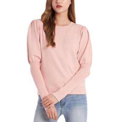 ライリー レイ レディース ニット・セーター アウター Cosette Puff-Sleeve Sweater