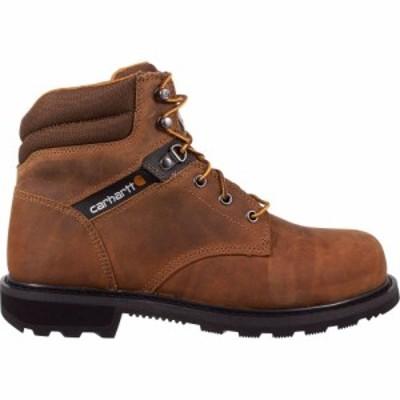 カーハート Carhartt メンズ ブーツ ワークブーツ シューズ・靴 6 Welt Steel Toe Work Boots Brown Oil Tanned